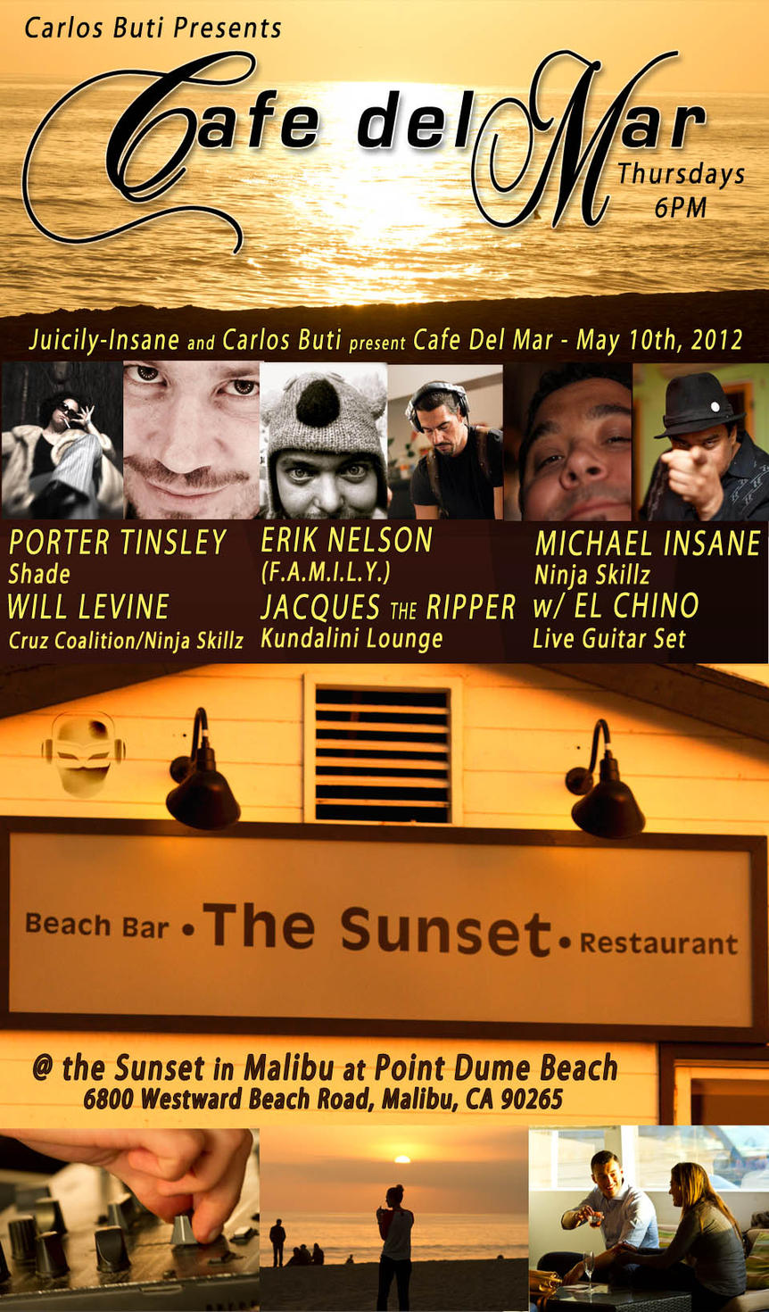 Cafe Del Mar - May 10 - at the sunset